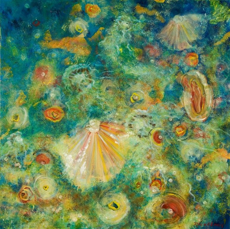Ocean life, 100x100