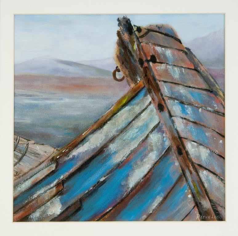 Last harbour II, 50x50