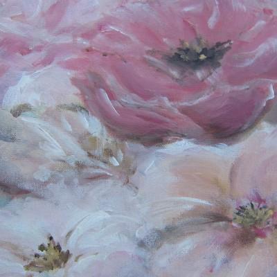 Rose ballet, 30 x 40 cm