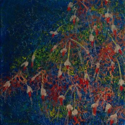 Fuchsias, 20x20