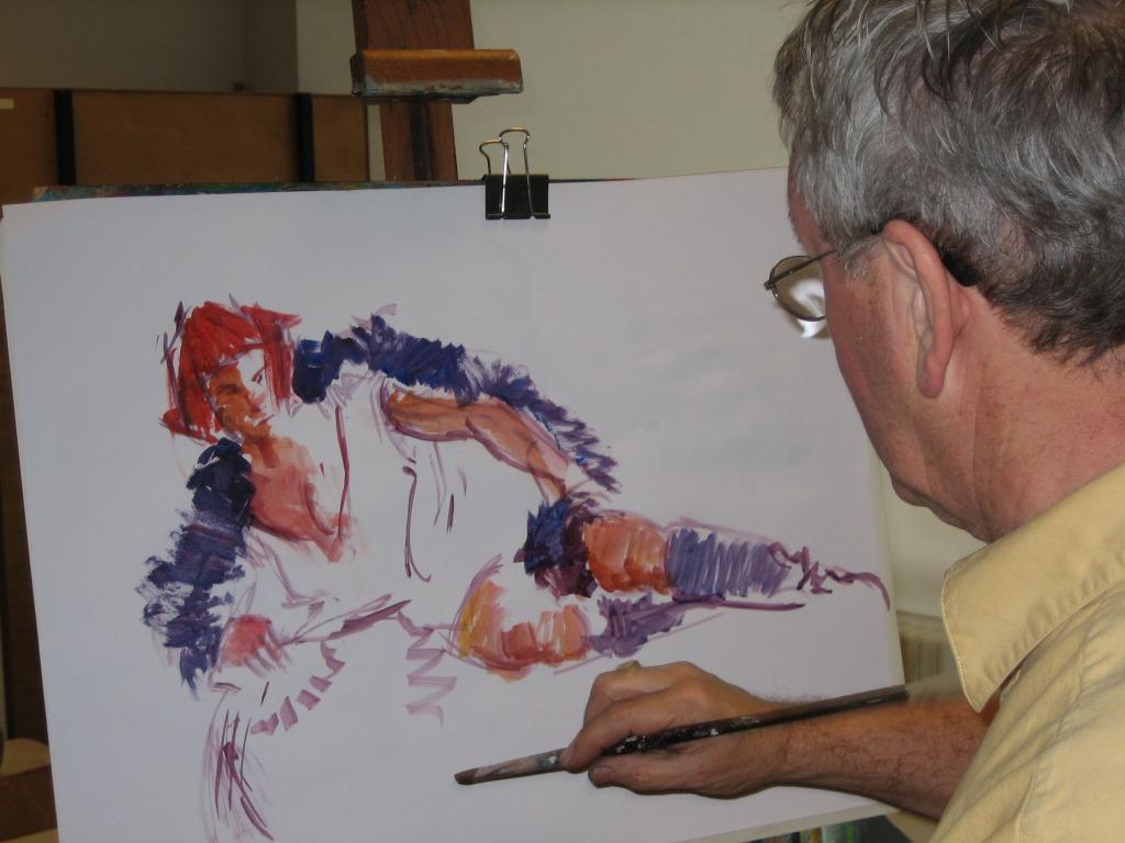 Model schilderen