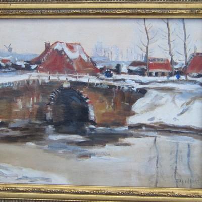 Winter, 30 x 40 cm,