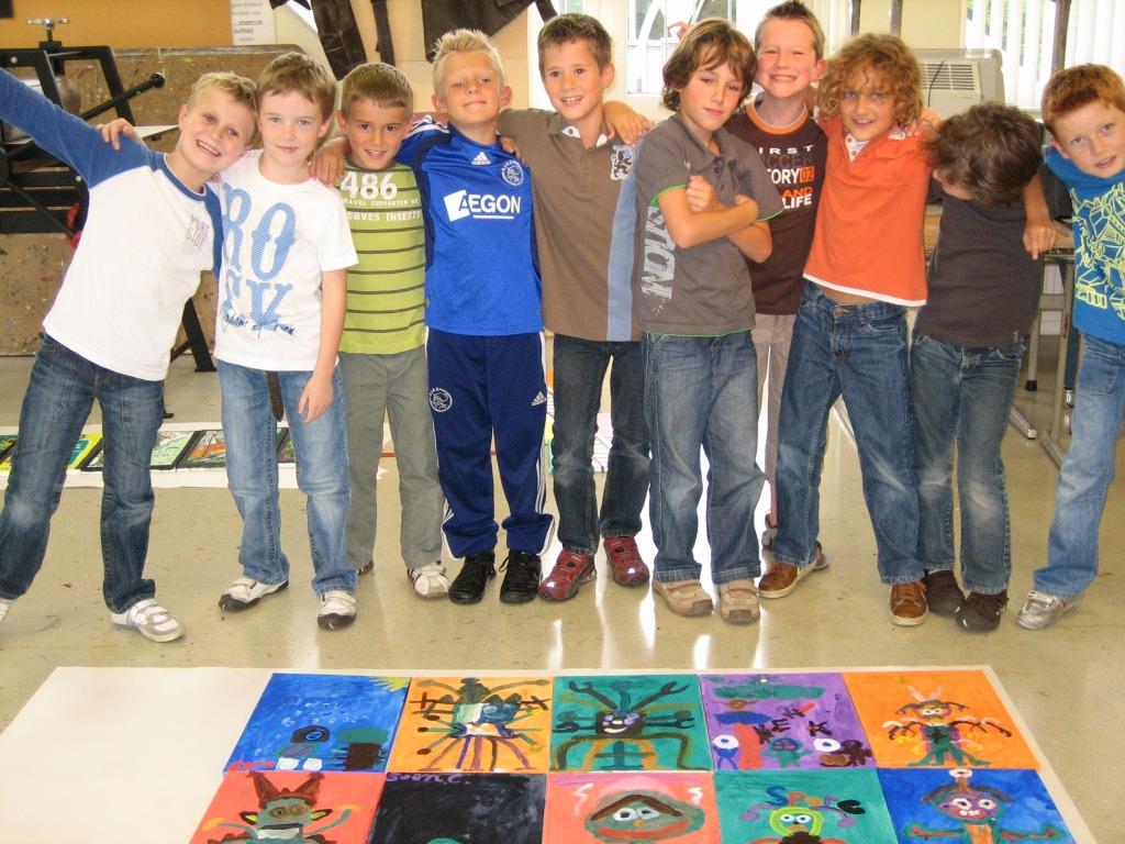 Schilderworkshop voor kinderen